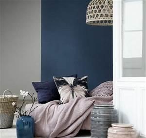 Blau Grau Farbe : trendige farben fabelhafte schlafzimmergestaltung in grau blau ~ Eleganceandgraceweddings.com Haus und Dekorationen