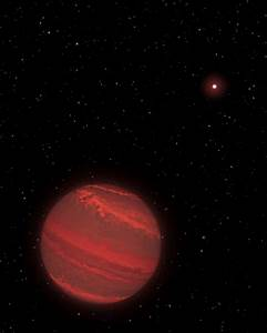 Space Images | Artist's View of a Super-Jupiter around a ...
