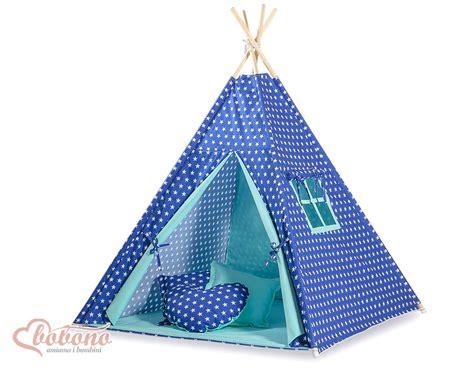 tapis matelass 233 bleu marine 233 toil 233 pour tipi