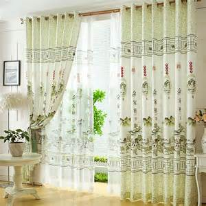 curtains for livingroom fresh light green polyester style decorative living room curtains