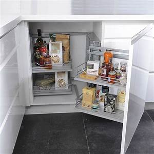 Meuble Cuisine D Angle : petite cuisine 12 astuces gain de place c t maison ~ Dailycaller-alerts.com Idées de Décoration