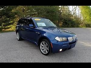 Bmw X3 2008 : 2008 bmw x3 3 0si msport awd blue martinsville in used bmw dealer p10805a youtube ~ Medecine-chirurgie-esthetiques.com Avis de Voitures