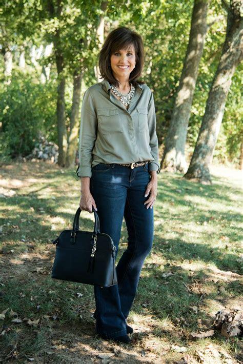 jean vest friday fashion casual fashion for 40 cyndi
