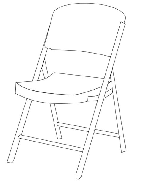dessin chaise coloriage chaise à imprimer gratuitement