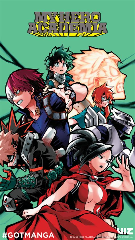 Customize and personalise your desktop, mobile phone and tablet with these free customize your desktop, mobile phone and tablet with our wide variety of cool and interesting my hero academia wallpapers in just a few clicks! VIZ | Blog / Got Manga? Let's Read My Hero Academia