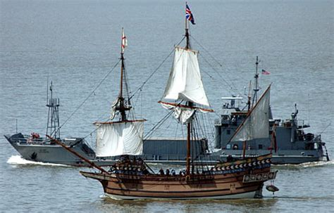 Boats Online America by Tall Ships Mark 400th Anniversary Of First English