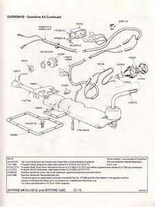 Triumph Spitfire Overdrive Gearbox Wiring Diagram  Triumph  Free Engine Image For User Manual