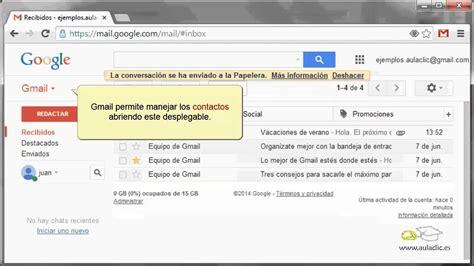 curso de internet  utilizar gmail el correo web de