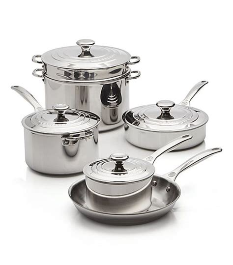 le creuset cookware stainless steel pots pans brands chefs pot pan mydomaine nyc signature buying worth according brand piece induction