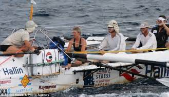 Woman spends 31 days rowing across Atlantic NAKED with 5 ...