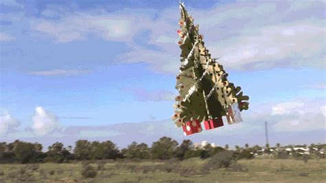 spread holiday cheer even farther with this flying