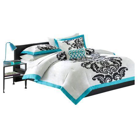 florentine teal modern comforter set nice for my