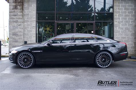 jaguar xj   lexani lf wheels exclusively