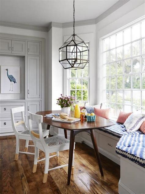 Bay Window Banquette   Contemporary   kitchen   HGTV