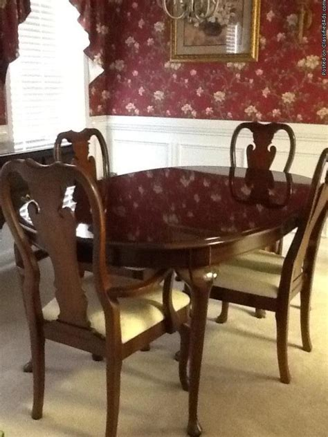 thomasville furniture dining for sale classifieds