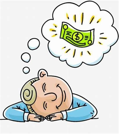 Clipart Daydream Money Daydreaming Dreaming Cartoon Dreams
