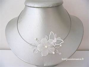 Mariage blog collier mariage fleurs for Collier fleur mariage
