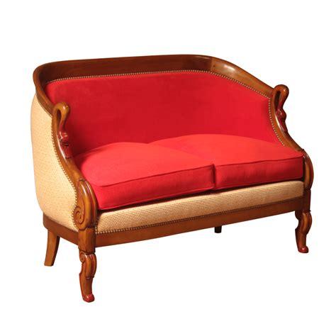 canap 233 berg 232 re brifaudon style restauration louis philippe ateliers allot meubles et