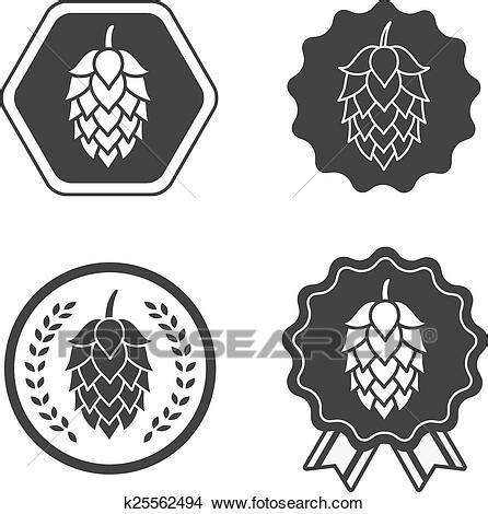 foto de Clipart luppolo mestiere birra segno simbolo