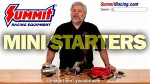 Jegs Mini Starter Wiring Diagram Best Summit Racing Mini