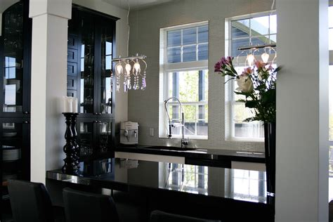 comptoir de cuisine blanc cuisine contemporaine griffe cuisine