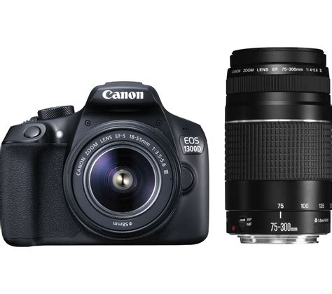 Buy Canon Eos 1300d Dslr Camera With Efs 1855 Mm F355