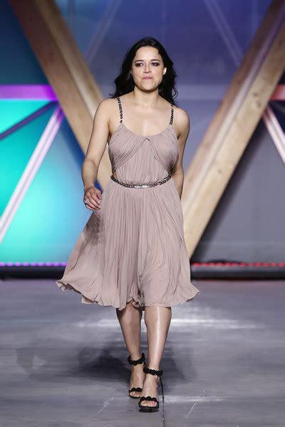 michelle rodriguez   runway fashion