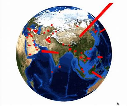 Asia Continent East Population Eastern Earthlings Billion