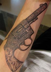 Weapon Tattoos for Men - Ideas and Inspiration for Guys