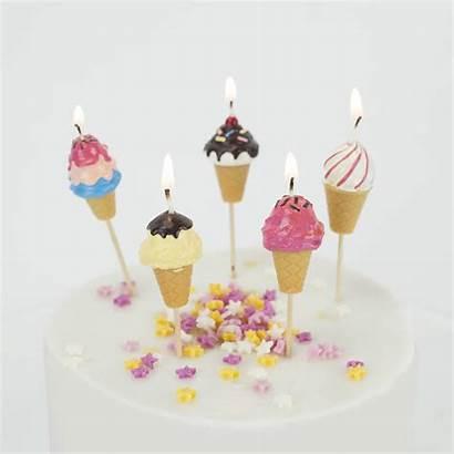 Candles Cake Birthday Cream Ice Notonthehighstreet
