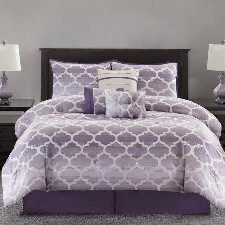 mainstays ombre fretwork 7 piece bedding comforter set
