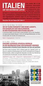 Italienische Möbel Berlin : das italienische kulturinstitut berlin auf der leipziger ~ Watch28wear.com Haus und Dekorationen
