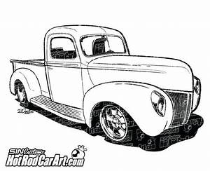 drawn truck street rod pencil and in color drawn truck With 34 ford hot rod