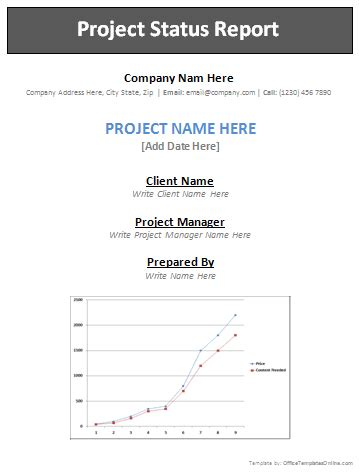 professional report templates office templates