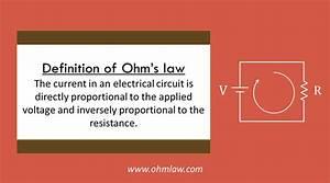 Ohm U0026 39 S Law Definition  Define Ohm U0026 39 S Law   U2022 Ohm Law