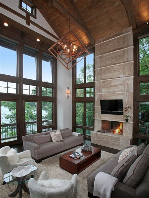 modern rustic home design ideas pictures remodel  decor