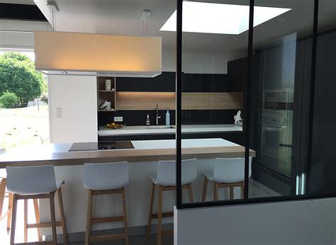 architecture de cuisine moderne cuisine moderne noir mat maison moderne