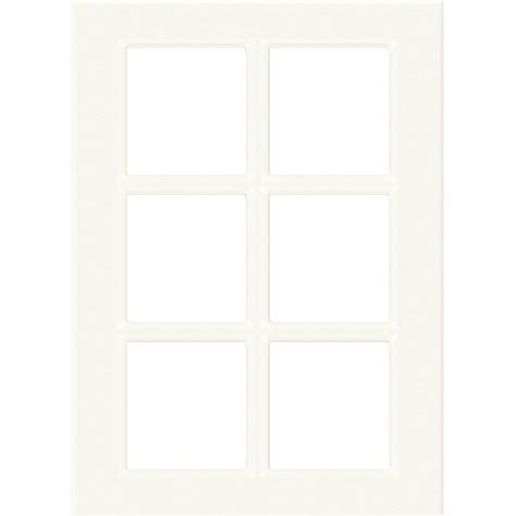 glass panel kitchen cabinet doors kaboodle 450mm 6 panel glass antique white cabinet door 6843