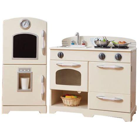 Teamson Kids Modern Play Kitchen  White  Play Kitchens