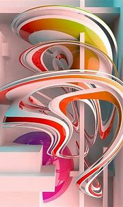 Abstract 3d Art by Paul Corfield | Abstract art images, 3d ...