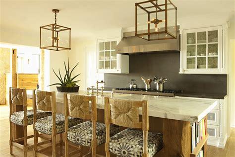 lantern lights kitchen island seagrass bar stools cottage kitchen bonesteel trout 8882
