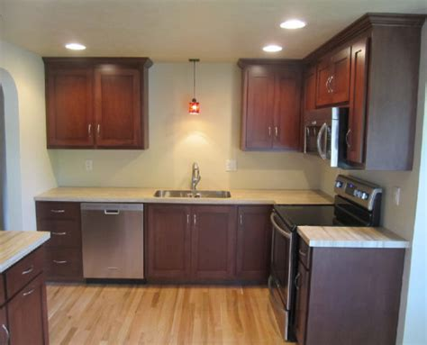Mission Style Kitchen Cabinet Makeover   Distinctive Cabinets