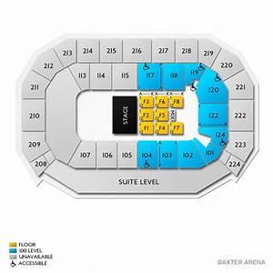 Baxter Arena Seating Chart Baxter Arena Seating Chart Vivid Seats