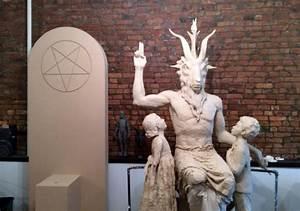 悪魔崇拝者がクラウドファンディングの出資金でバフォメット像を州議事堂に設置する動き - GIGAZINE