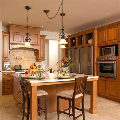 la cuisine classique cuisine bois cuisine bois lot moderne chne ambiance