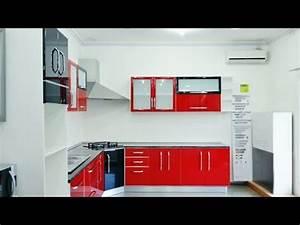 cuisine moderne rouge noir youtube With cuisine rouge et noir