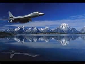B-1 Lancer Strategic Bombers Supersonic