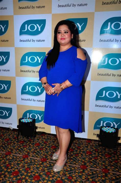 Bharti during a promotional programme