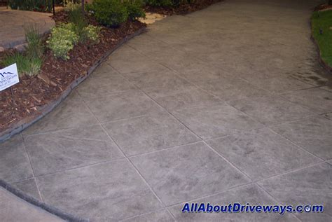 colored concrete colored concrete sted concrete driveways
