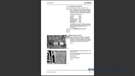 claas lexion  repair manual